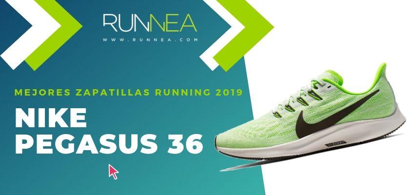 Las mejores zapatillas running 2019, Nike Pegasus 36