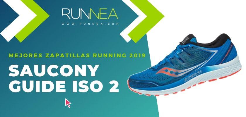 Las mejores zapatillas running 2019, Saucony Guide ISO 2