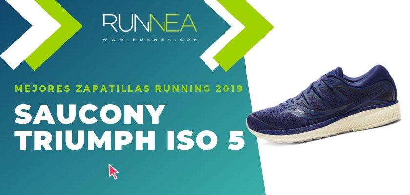 Las mejores zapatillas running 2019, Saucony Triumph ISO 5