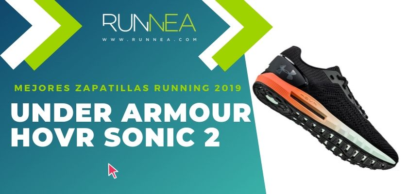 Las mejores zapatillas running 2019, Under Armour HOVR Sonic 2