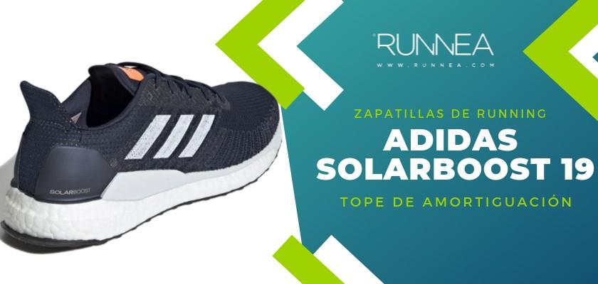 Mejores zapatillas de running 2019 para corredores de pisada neutra  - Adidas Solarboost 19