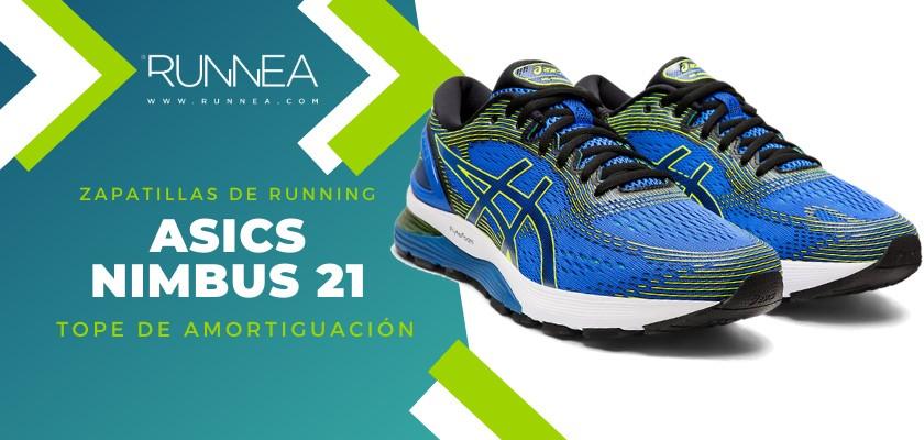 Mejores zapatillas de running 2019 para corredores de pisada neutra - ASICS Nimbus 21