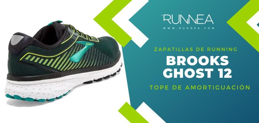 Mejores zapatillas de running 2019 para corredores de pisada neutra - Brooks Ghost 12