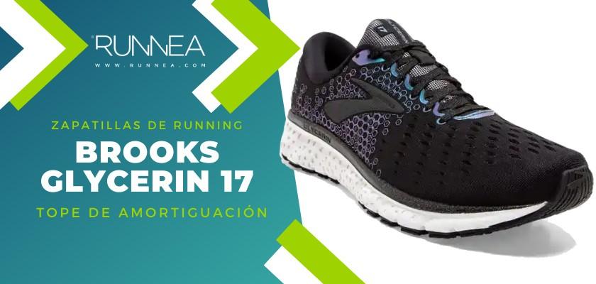 Mejores zapatillas de running 2019 para corredores de pisada neutra - Brooks Glycerin 17