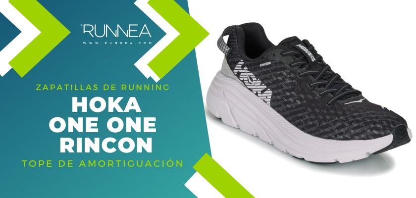 Mejores zapatillas de running 2019 para corredores de pisada neutra - Hoka One One Rincon