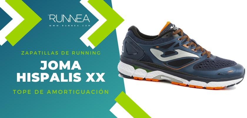 Mejores zapatillas de running 2019 para corredores de pisada neutra  - Joma Hispalis XX
