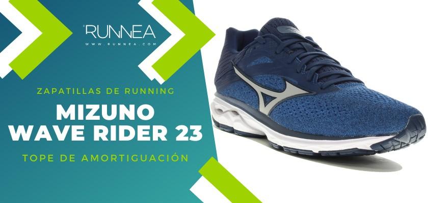 Mejores zapatillas de running 2019 para corredores de pisada neutra - Mizuno Wave Rider 23
