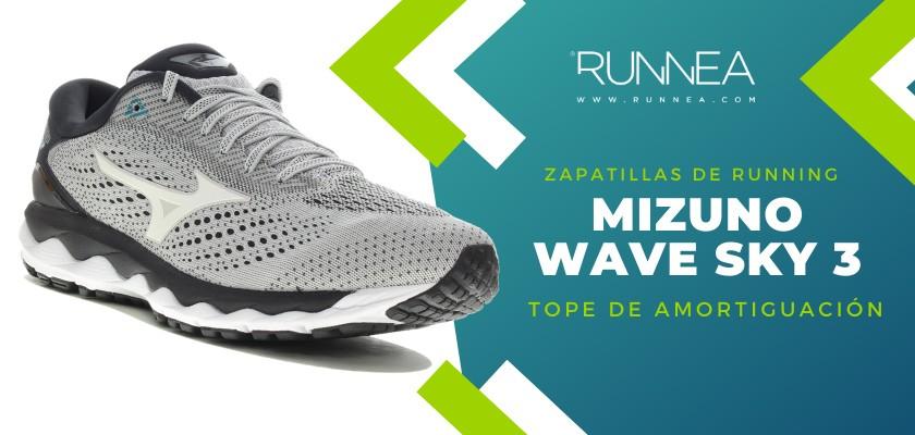 Mejores zapatillas de running 2019 para corredores de pisada neutra - Mizuno Wave Sky 3