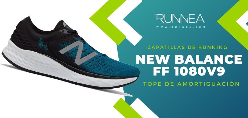Mejores zapatillas de running 2019 para corredores de pisada neutra - New Balance Fresh Foam 1080 v9