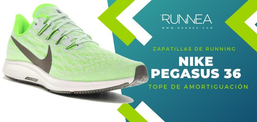 Mejores zapatillas de running 2019 para corredores de pisada neutra - Nike Pegasus 36