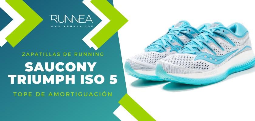 Mejores zapatillas de running 2019 para corredores de pisada neutra  - Saucony Triumph ISO 5