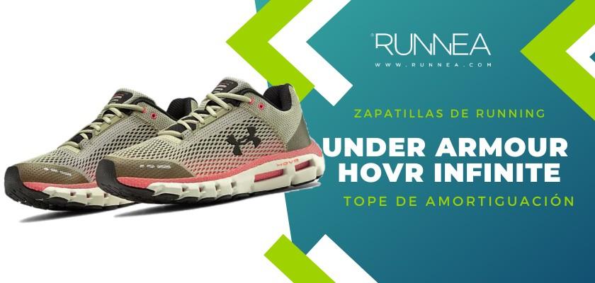Mejores zapatillas de running 2019 para corredores de pisada neutra  - Under Armour HOVR Infinite