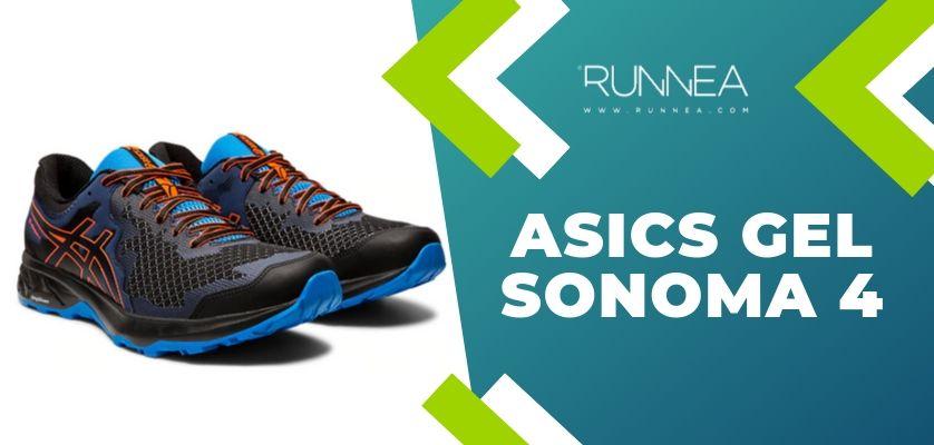 6 mejores zapatillas de trail running ASICS para los runneantes principiantes y experimentados, ASICS Gel Sonoma 4