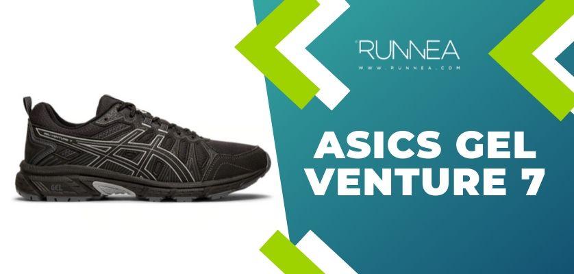6 mejores zapatillas de trail running ASICS para los runneantes principiantes y experimentados, ASICS Gel Venture 7