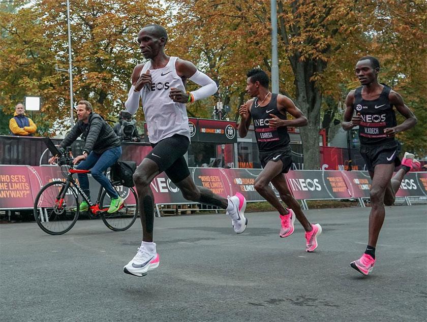 comodidad Hacer pañuelo de papel  Nike ZoomX Vaporfly Next%, la zapatilla de running de Nike que ha  encumbrado las gestas deportivas de Eliud Kipchoge y Brigid Kosgei