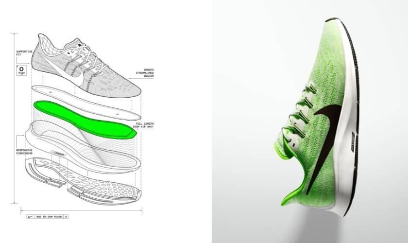 Nike Air Zoom Pegasus 36 las 4 claves de su éxito, tecnología