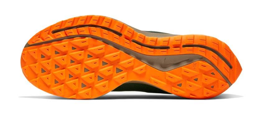 Nike Zoom Pegasus 36 Trail GORE-TEX, suela