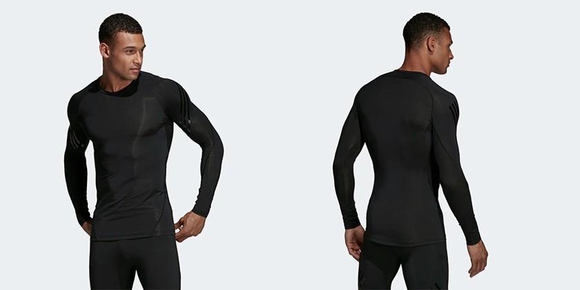 Prendas deportivas Alphaskin de adidas - Camiseta Alphaskin Tech 3 bandas