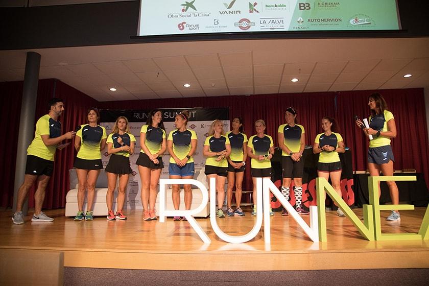 Runnea Summit 2019: Presentación del Runnea Women Team, reto 50/50/25 de la Behobia San Sebastián 2019 - foto 3