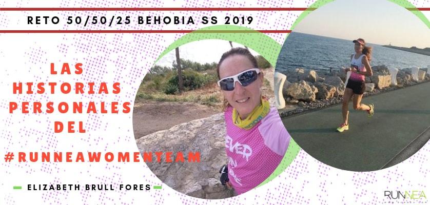 Presentación de las 50 componentes del Runnea Women Team - Elizabeth Brull Fores (Tarragona)
