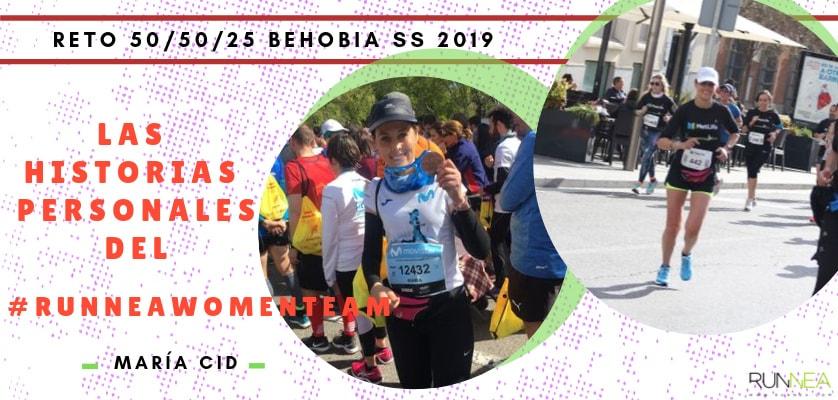 Presentación de las 50 componentes del Runnea Women Team - María Cid (Madrid)