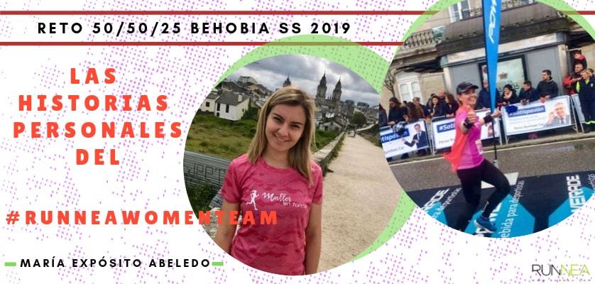 Presentación de las 50 componentes del Runnea Women Team - María Expósito Abeledo (Galicia)