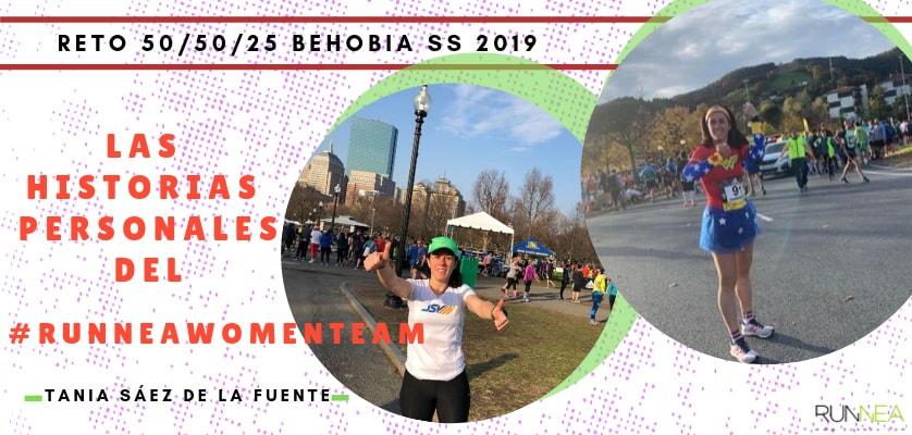 Presentación de las 50 componentes del Runnea Women Team - Tania Sáez de la Fuente (Vizcaya)