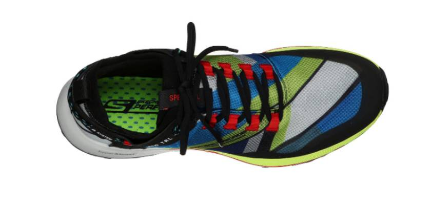 Skechers GO RUN Speed ​​TRL Hyper, upper