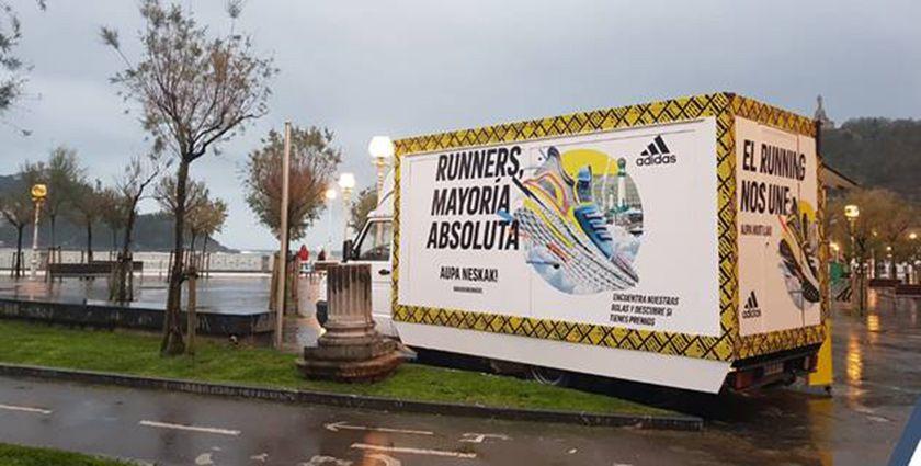 Así vivimos la Behobia San Sebastián 2019 con Adidas Running, contenedor