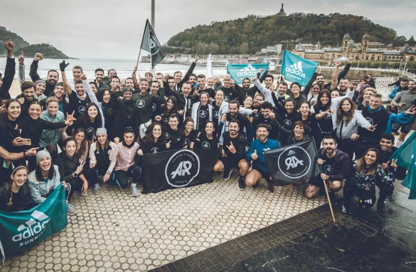 Así vivimos la Behobia San Sebastián 2019 con Adidas Running, entreno en la concha