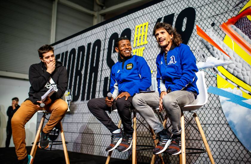 Así vivimos la Behobia San Sebastián 2019 con Adidas Running, Haile Gebrselassie