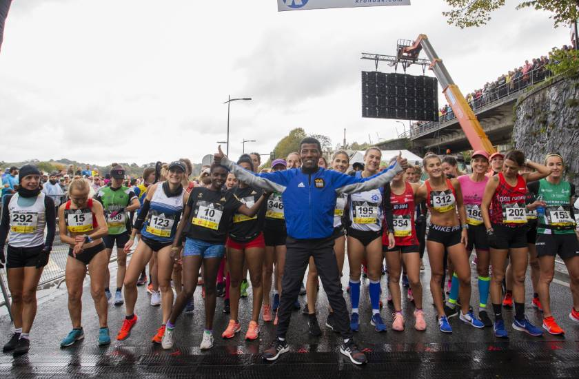 Así vivimos la Behobia San Sebastián 2019 con Adidas Running, pistoletazo de salida