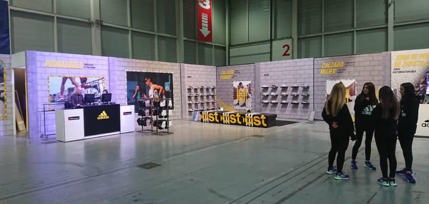 Así vivimos la Behobia San Sebastián 2019 con Adidas Running, stand