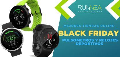 Black Friday pulsometros: Las mejores tiendas para comprar un reloj deportivo en oferta