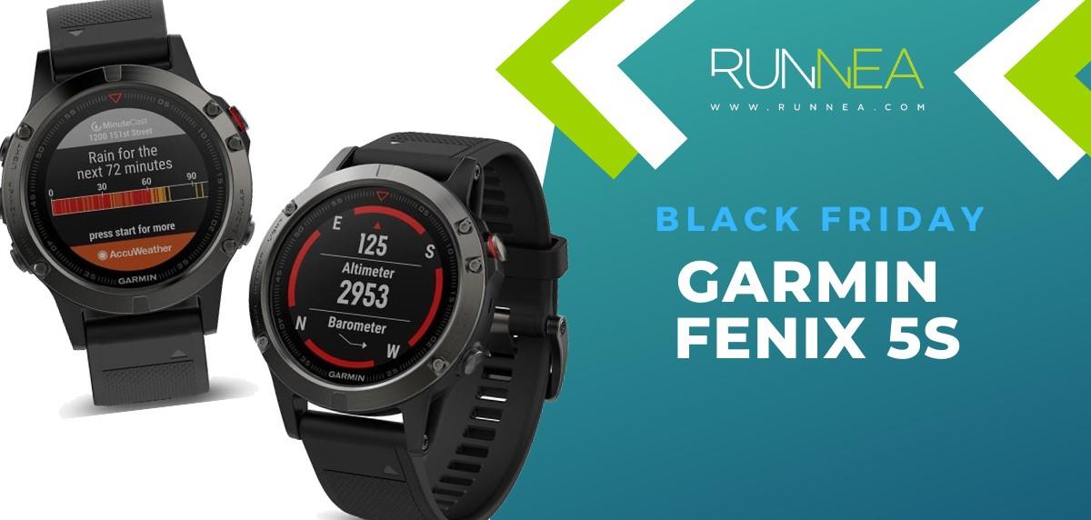 Las mejores ofertas del Black Friday en relojes deportivos GPS - Garmin Fenix 5S
