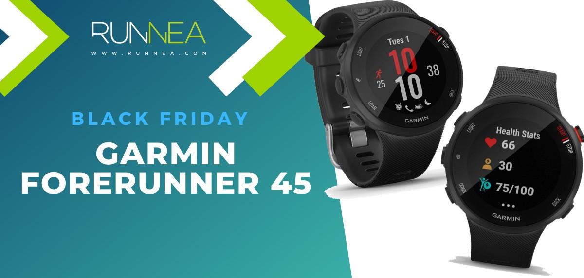 Las mejores ofertas del Black Friday en relojes deportivos GPS - Garmin Forerunner 45
