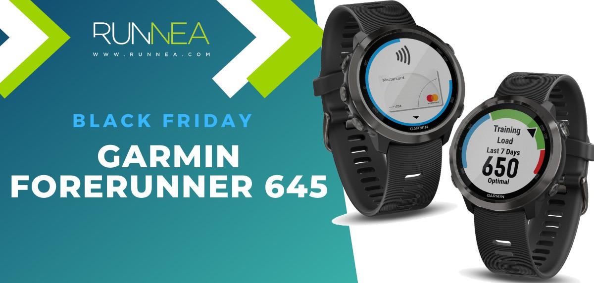 Las mejores ofertas del Black Friday en relojes deportivos GPS - Garmin Forerunner 645