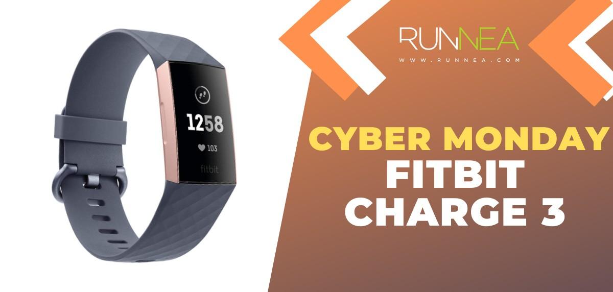 Ofertas más destacadas del Cyber Monday en pulseras de actividad - Fitbit Charge 3