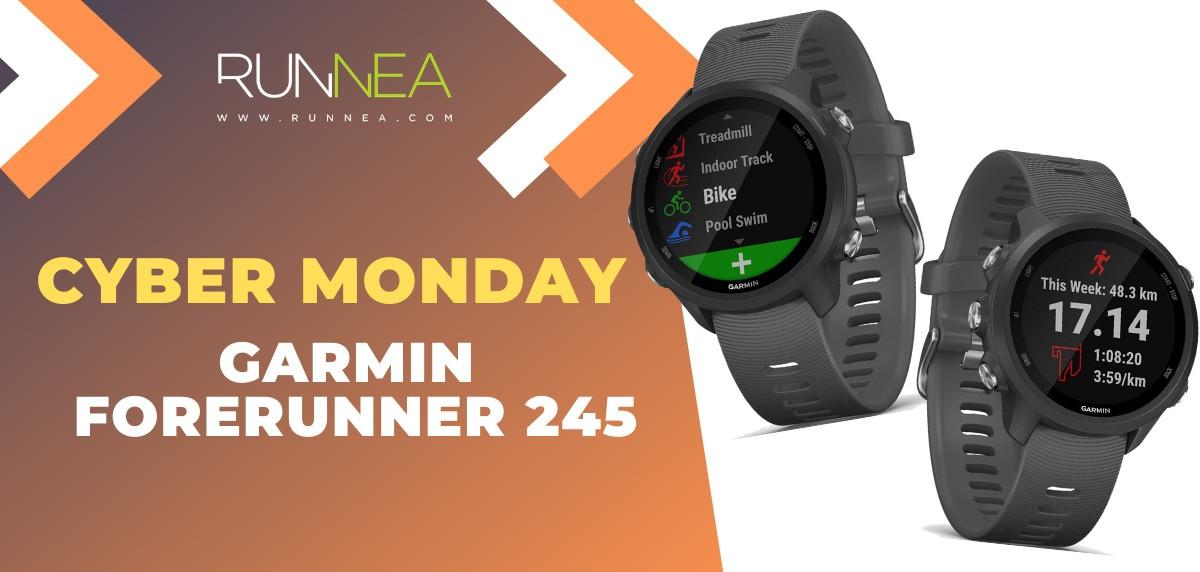 Ofertas más destacadas del Cyber Monday en relojes deportivos y pulsómetros - Garmin Forerunner 245