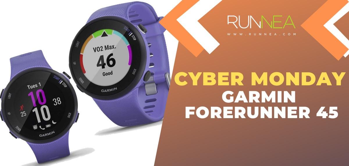 Ofertas más destacadas del Cyber Monday en relojes deportivos y pulsómetros - Garmin Forerunner 45