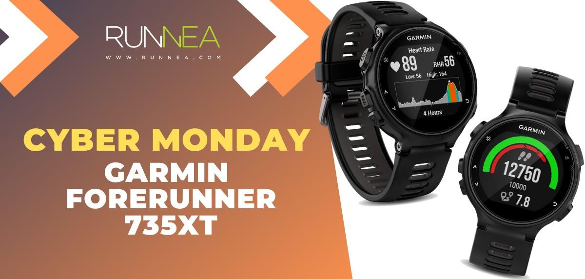 Ofertas más destacadas del Cyber Monday en relojes deportivos y pulsómetros - Garmin Forerunner 735XT