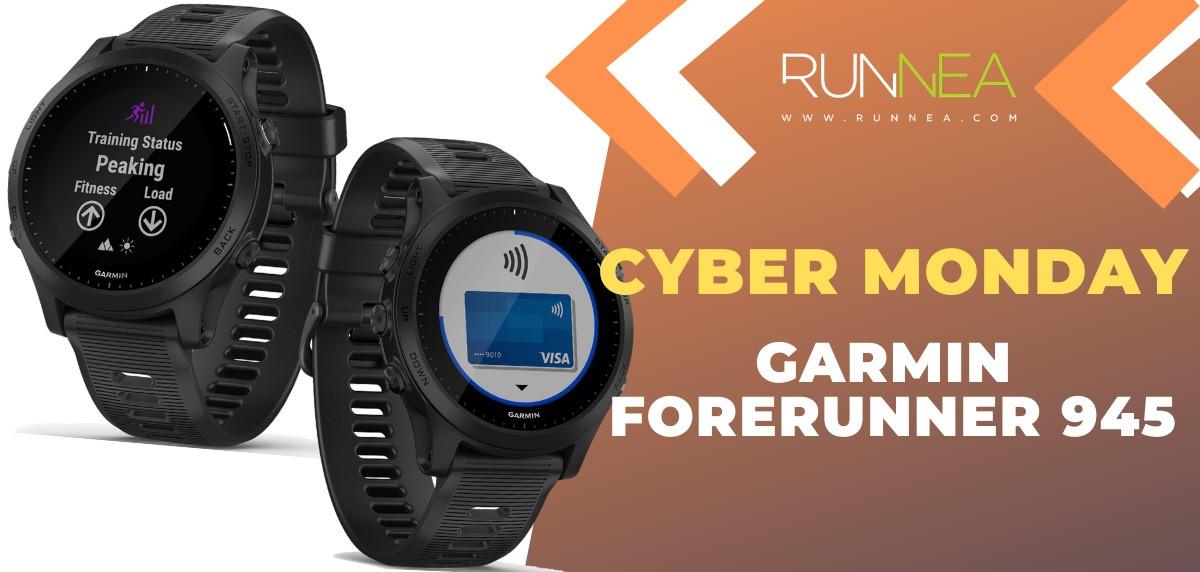 Ofertas más destacadas del Cyber Monday en relojes deportivos y pulsómetros - Garmin Forerunner 945