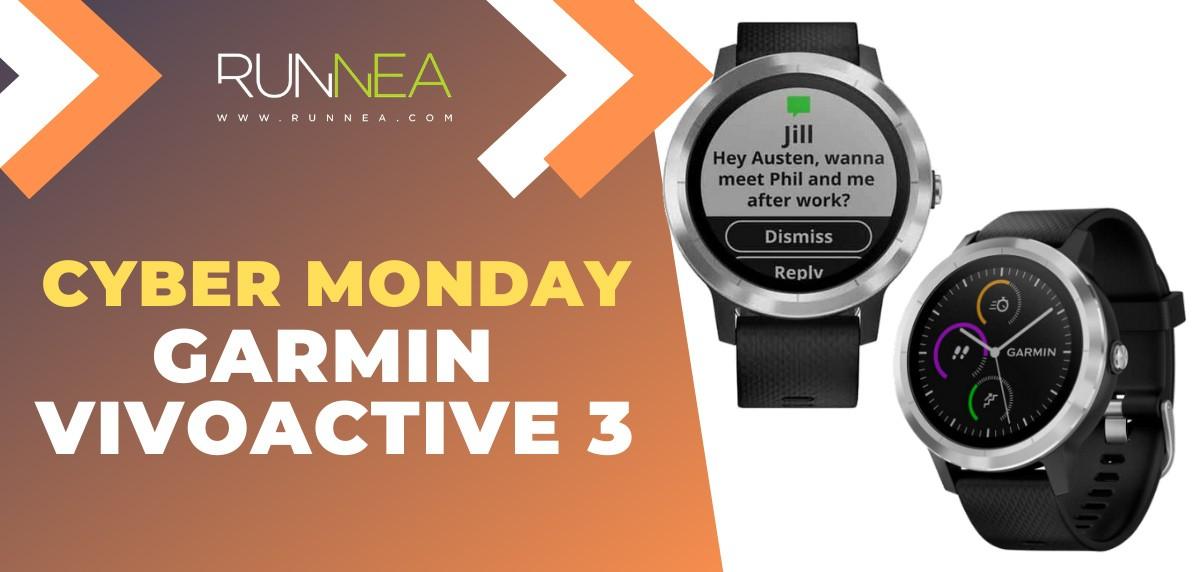 Ofertas más destacadas del Cyber Monday en Smartwatches - Garmin Vivoactive 3