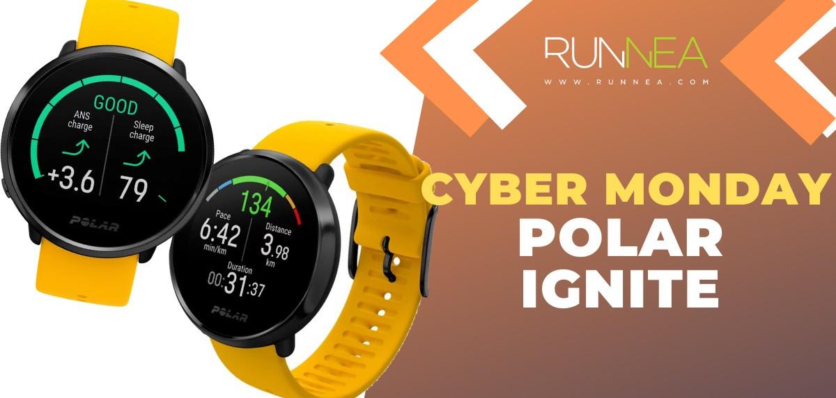 Ofertas más destacadas del Cyber Monday en relojes deportivos y pulsómetros - Polar Ignite