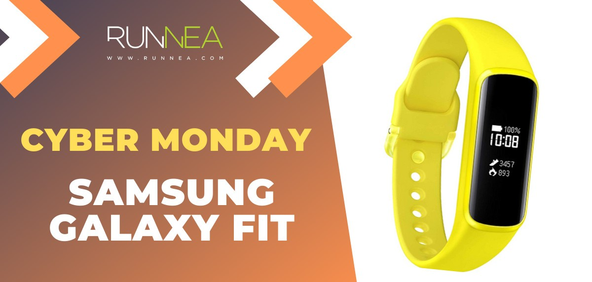 Ofertas más destacadas del Cyber Monday en pulseras de actividad - Samsung Galaxy Fit