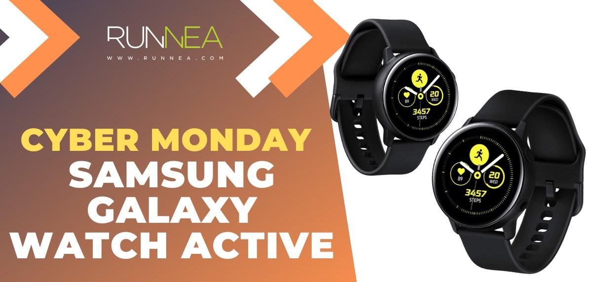 Ofertas más destacadas del Cyber Monday en Smartwatches - Samsung Galaxy Watch Active