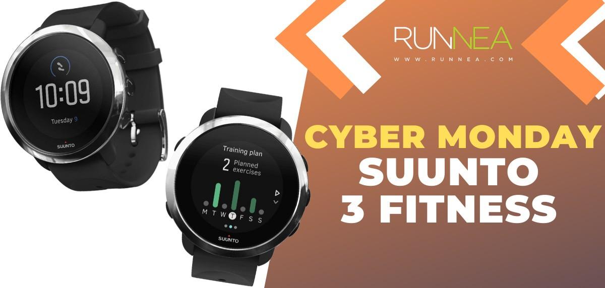 Ofertas más destacadas del Cyber Monday en relojes deportivos y pulsómetros - Suunto 3 Fitness