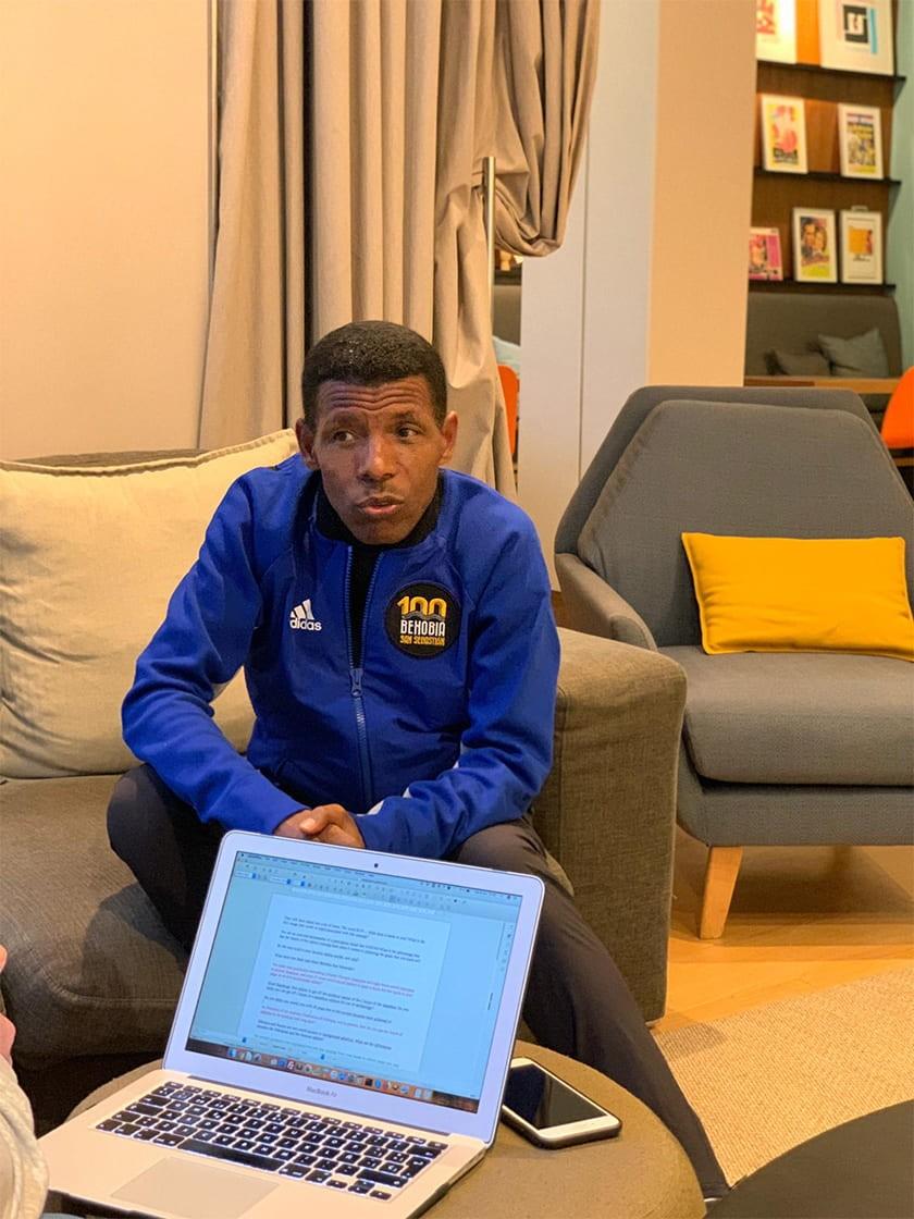 Entrevistamos a Haile Gebrselassie en la Behobia San Sebastián 2019: Etiopía vs Kenia - foto 2