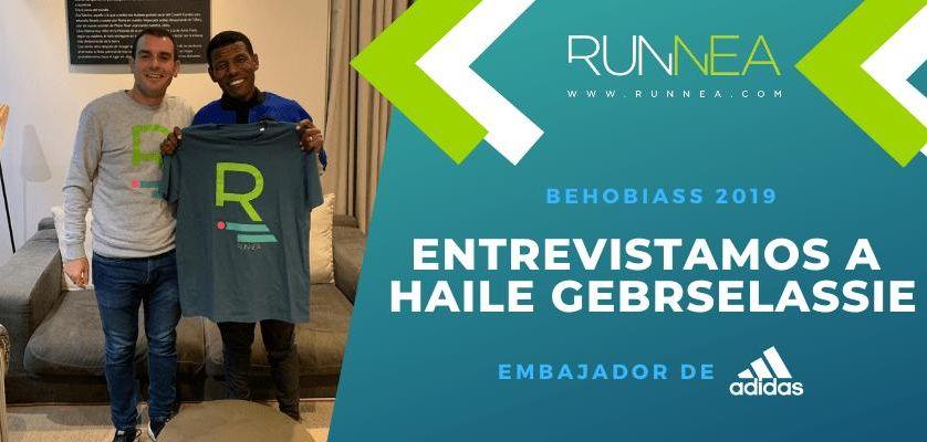 """Hablamos con Haile Gebrselassie: """"¡Poner muelles en tus zapatillas de running!... No sé donde está el límite"""""""