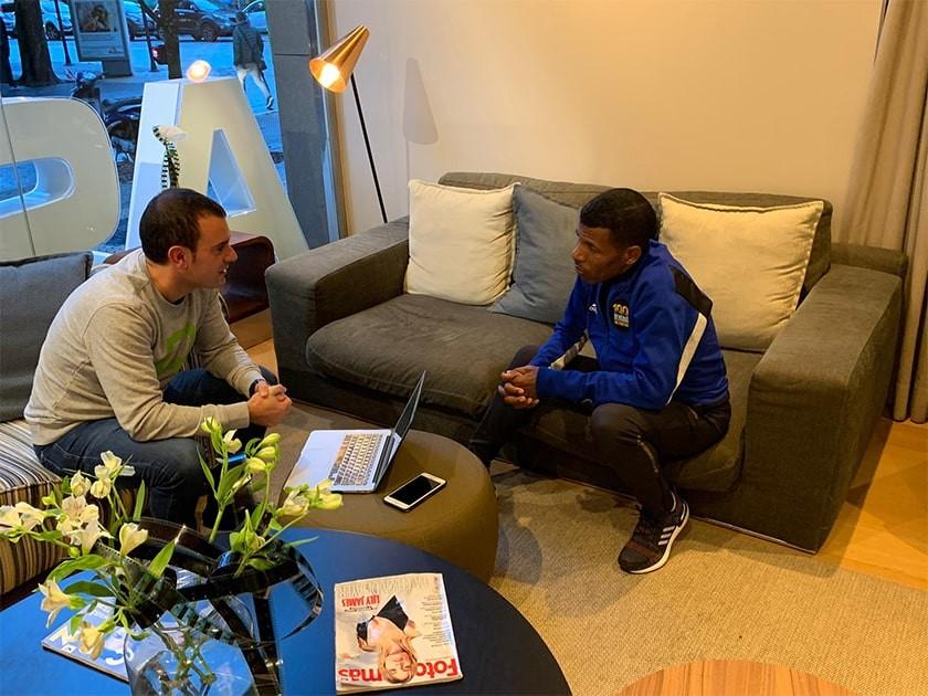 Entrevistamos a Haile Gebrselassie en la Behobia San Sebastián 2019: Qué significa correr - foto 1
